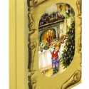 Книга Рождество дерево+кожа