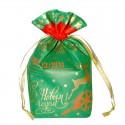 """Подарочный мешок """"Экспресс"""" зеленый"""