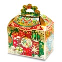 "Новогодняя подарочная коробка ""Ларец"" с тиснением"