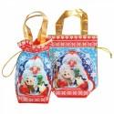 """Новогодняя подарочная сумочка с двумя ручками """"Трио"""""""