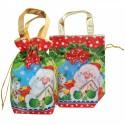 """Новогодняя подарочная сумочка """"Бант"""""""
