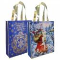 Новогодняя сумка с петлевой ручкой «Снежный НГ»