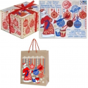 Посылка от Деда Мороза средняя с пакетом