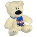 Мягкая игрушка медведь в шарфике